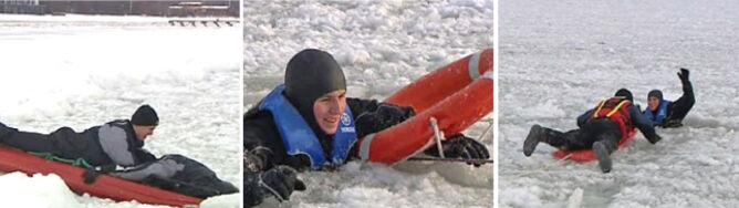 WOPR: lód jest kruchy i niebezpieczny
