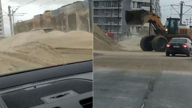 Weekend z Odette. Belgię zasypał piasek i zalał deszcz, który powinien spaść w ciągu 1,5 miesiąca