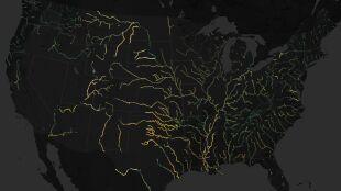 Rzeka niejeden ma kolor. Zmiany widać na zdjęciach satelitarnych