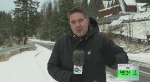 Śnieg z Zakopanem