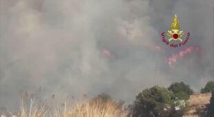 We Włoszech wybuchają pożary